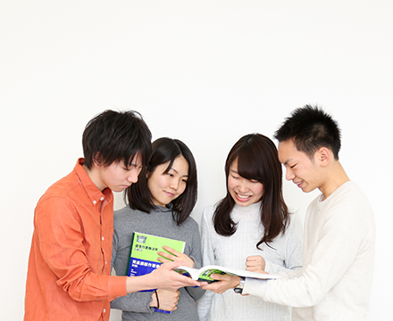 少人数グループ体制の国家試験対策