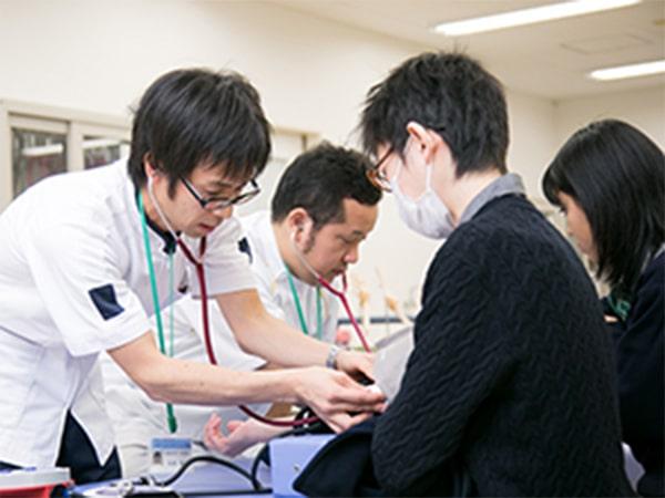 理学療法・作業療法体験授業イメージ